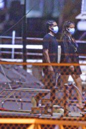 Rihanna and ASAP Rocky -  Out in Barbados 12/24/2020
