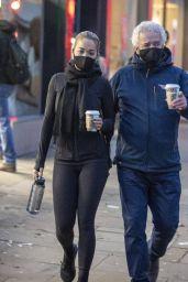 Rita Ora With Her Father in Kensington, London 12/07/2020