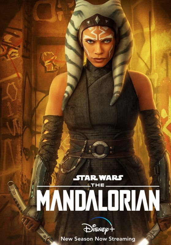 "Rosario Dawson - ""The Mandalorian"" Season 2 Poster"