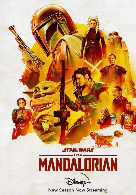 "Rosario Dawson - ""The Mandalorian"" Season 2 Poster (+1)"
