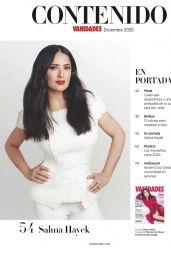 Salma Hayek - Vanidades Mexico December 2020 Issue