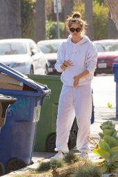 Sara Sampaio - Outside Her Home in LA 12/10/2020