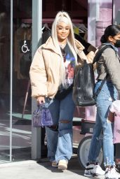 Saweetie - Out in West Hollywood 12/09/2020