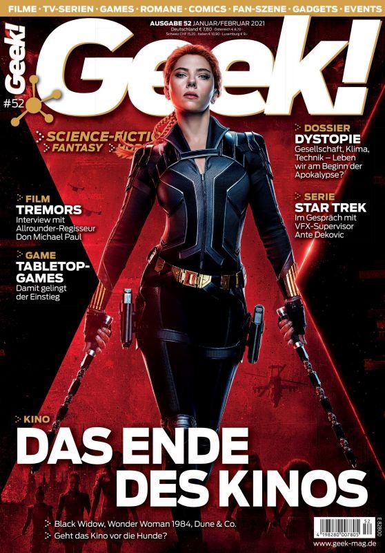 Scarlett Johansson - Geek! Magazine January/February 2021 Issue