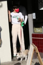 Selma Blair - Christmas Shopping in Los Angeles 12/20/2020
