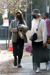 Shay Mitchell at Farmers Market in Brentwood 12/27/2020