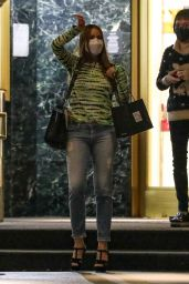 Sofia Vergara - Shopping at Saks Fifth Avenue in Beverly Hills 12/15/2020