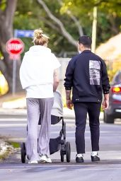 Sophie Turner and Joe Jonas - Daily Walk in Los Angeles 12/08/2020