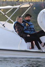 Stassi Schroeder on a Romantic Swan Boat Ride in LA 12/11/2020