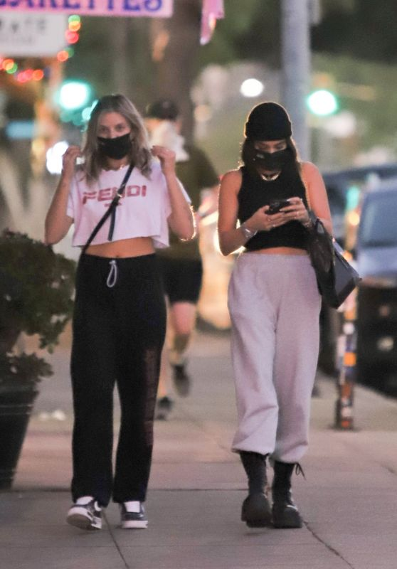 Vanessa Hudgens and GG Magree - Out in Los Feliz 12/09/2020