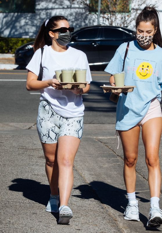 Addison Rae and Tessa Brooks - Out in Los Angeles 01/11/2021