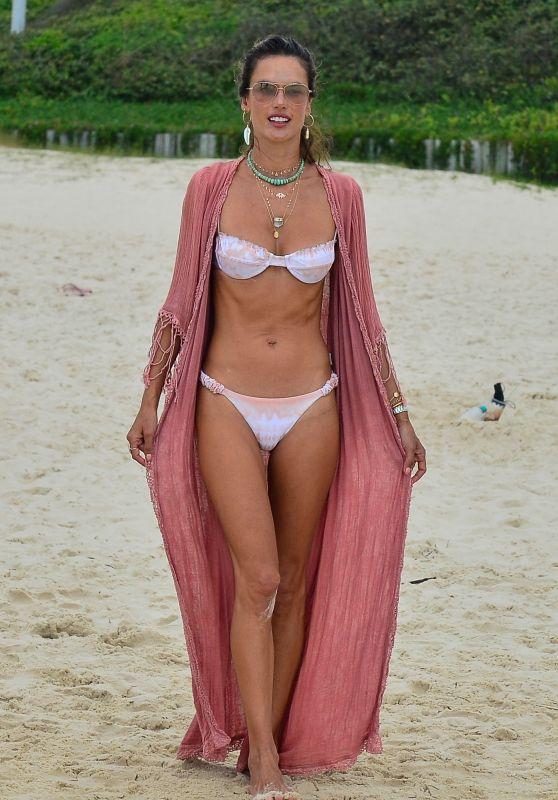 Alessandra Ambrosio in a Bikini - Florianopolis 01/08/2021