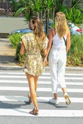 Alessandra Ambrosio - Out in Florianópolis 01/13/2021