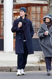 Alexa Chung With Boyfriend Orson Fry - London 01/10/2021