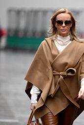 Amanda Holden Chic Street Style - London 01/05/2021