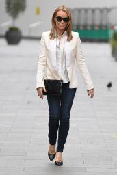 Amanda Holden - Leaving Global Studios in London 01/11/2021