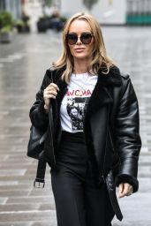 Amanda Holden - Leaving the Global Radio Studios in London 01/27/2021