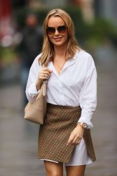 Amanda Holden Leggy in Mini Skirt - London 01/28/2021