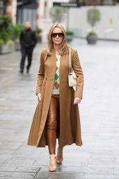 Amanda Holden Street Fashion - London 01/19/2021
