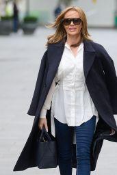 Amanda Holden Street Style - London 01/18/2021