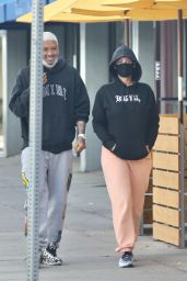 Amber Rose and Alexander Edwards - Out in LA 01/07/2021