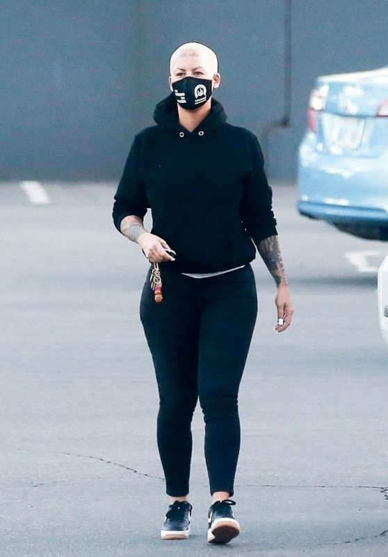 Amber Rose - Out in Los Angeles 01/15/2021