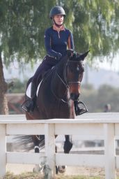 Ariana Madix - Rides Her Horse in Agoura Hills 01/16/2021