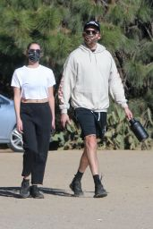 Ashley Benson in Casual Outfit - Los Angeles 01/11/2021