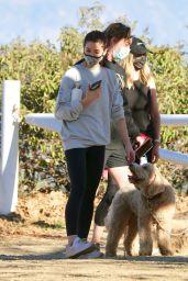 Ashley Greene - Hiking in Los Angeles 01/17/2021