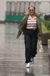 Ashley Roberts at Global Radio in London 01/14/2021