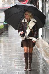 Ashley Roberts - Leaves Heart Radio in London 01/13/2021
