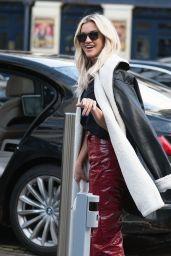 Ashley Roberts Street Style - London 01/19/2021