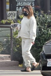 Ashley Tisdale in Casual Outfit - Los Angeles 01/07/2021