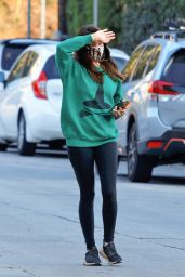 Aubrey Plaza in Casual Outfit - Studio City 01/05/2021