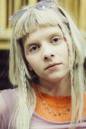 Aurora - Photoshoot for Warp Magazine August 2020