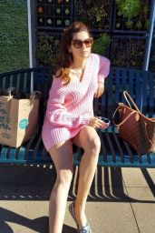 Blanca Blanco - Shopping at Whole Foods in Malibu on New Year's Eve 12/31/2020