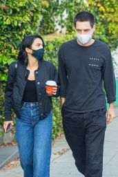 Camila Mendes at Hair Salon in Studio City 01/03/2021