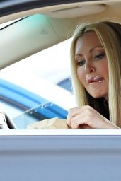 Caprice Bourret at a McDonald