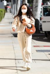 Cara Santana in Casual Outfit - Beverly Hills 01/14/2021