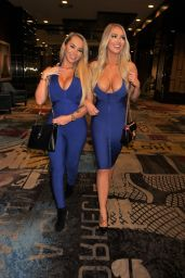 Claudia Fijal and Colleen McGinniss - Out in Las Vegas 01/13/2021
