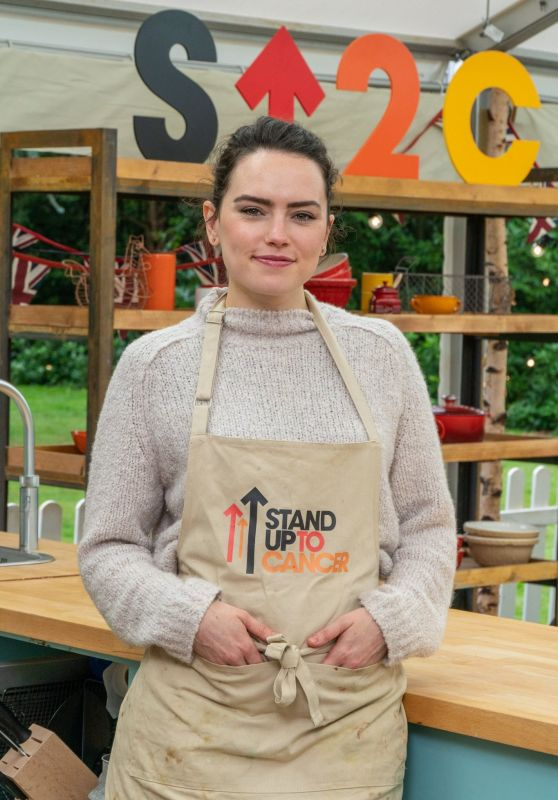 Daisy Ridley - Great British Bake Off Special Stand Up to Cancer Show Spring 2021
