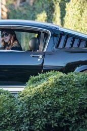 Dakota Johnson in Her GT 350 in Malibu 01/16/2021