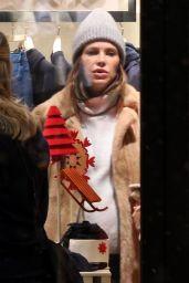Dasha Zhukova - Out in St. Moritz 12/29/2020