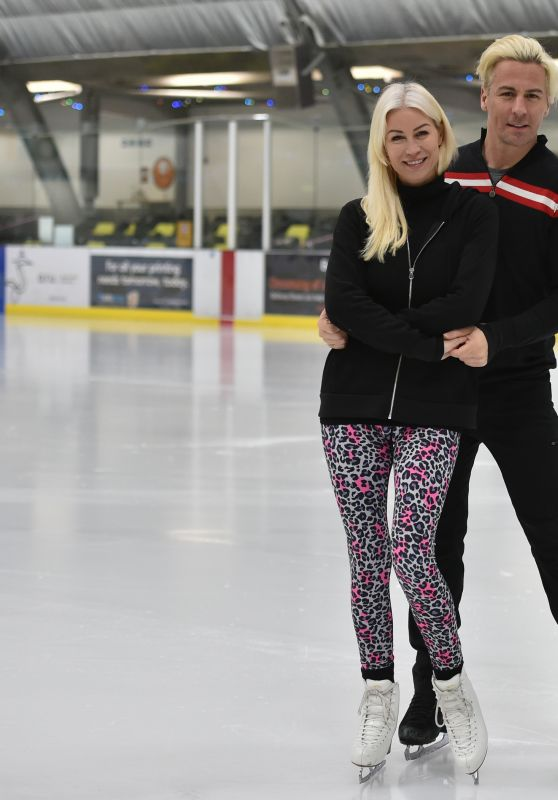 Denise Van Outen - Dancing on Ice Starting in London 01/09/2021