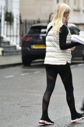 Denise Van Outen - Out in London 01/19/2021