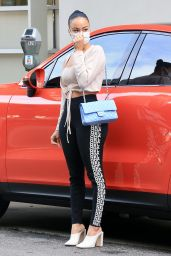 Draya Michele Booty in Tights - Beverly Hills 01/06/2021