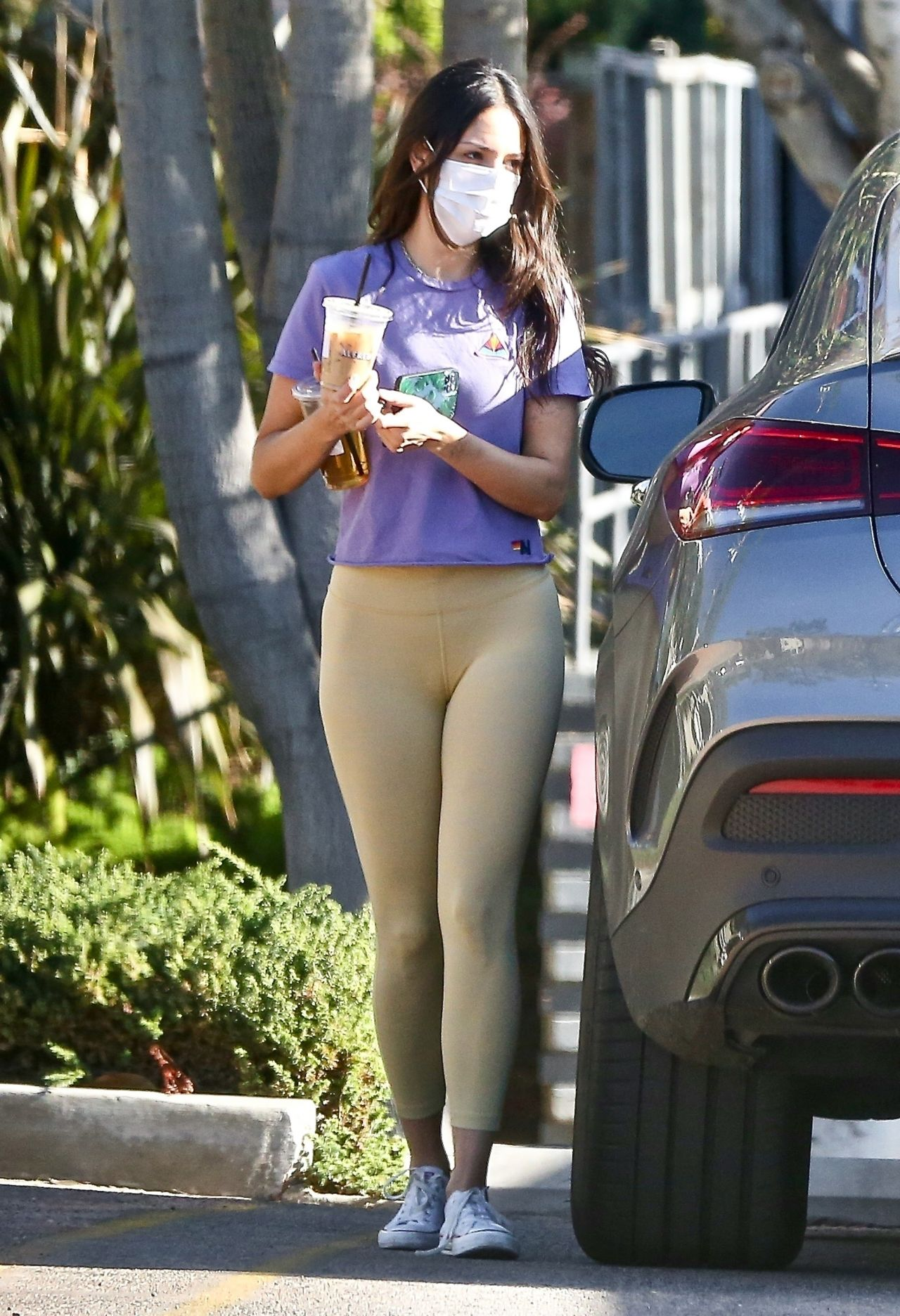 Eiza Gonzalez in Tights - Out in West Hollywood 01/15/2021