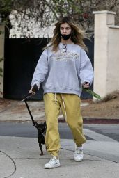 Elisabetta Canalis in Casual Outfit - West Hollywood 01/10/2021