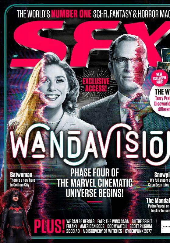 Elizabeth Olsen - SFX Magazine January 2021 Issue