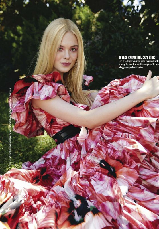 Elle Fanning - Natural Style Magazine August 2020 Issue